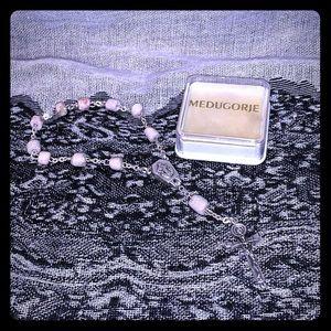 Vintage Natural stone Medugorje Rosery Bracelet